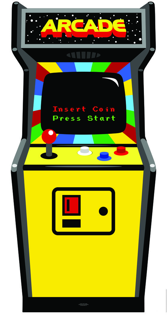 Image result for arcade cabinet clipart.