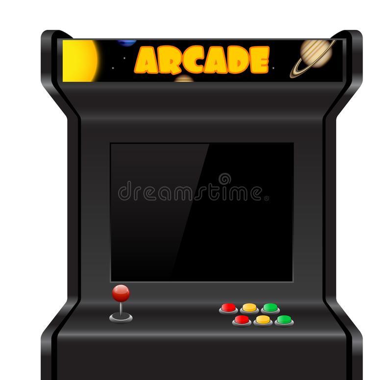 Arcade Machine Stock Illustrations.