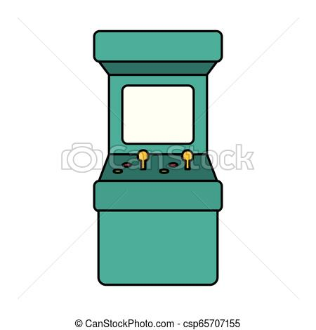Arcade machine Vector Clipart EPS Images. 965 Arcade machine clip.