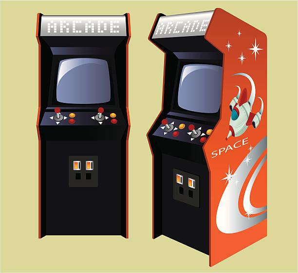 Best Arcade Machine Illustrations, Royalty.