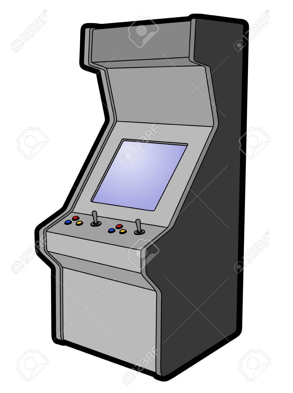 Arcade machine design.