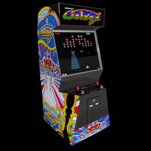 Galaga Arcade Icon.