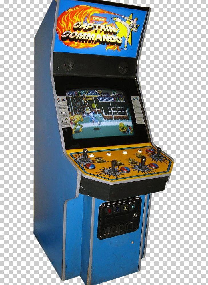 Arcade Cabinet Captain Commando Cadillacs And Dinosaurs Arcade Game.