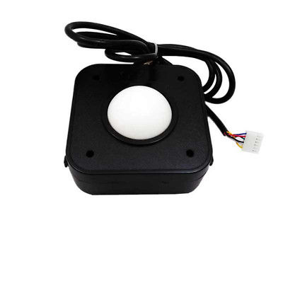 2.25 Inch White Ball Arcade Game Trackball Compatible with Jamma 60 in 1  Jamma.