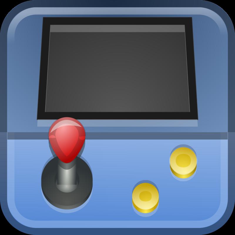 Free Simple Arcade Machine Clip Art.