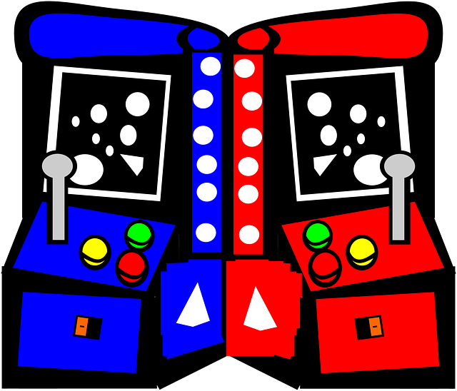 Arcade video game clipart.
