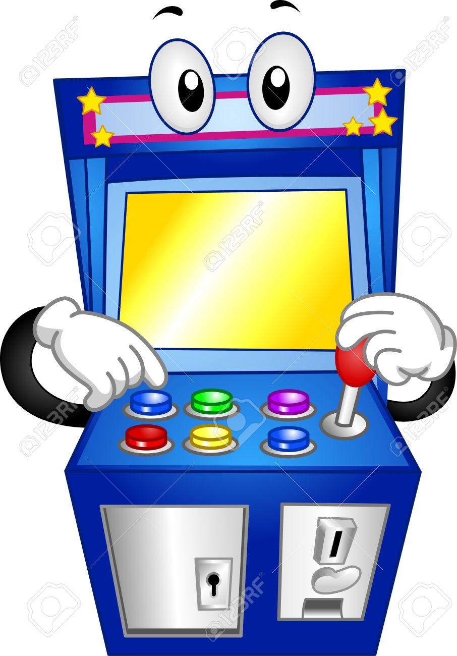 Arcade games clipart.