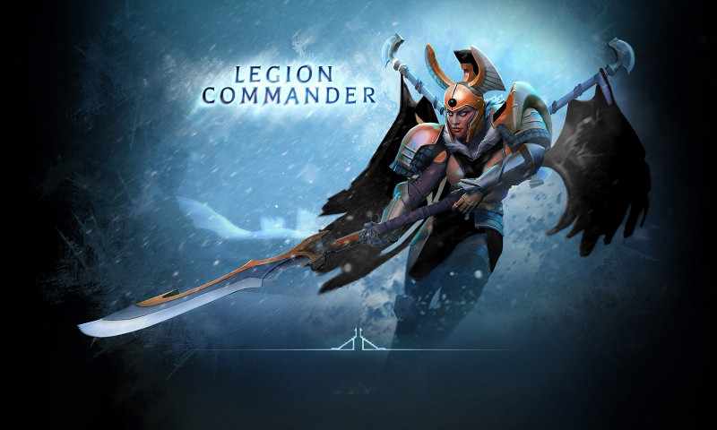 Legion commander dota 2 clipart.