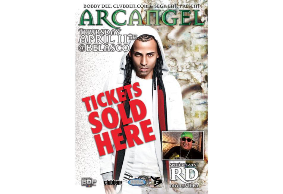 Buy Tickets to Arcangel in Los Angeles.