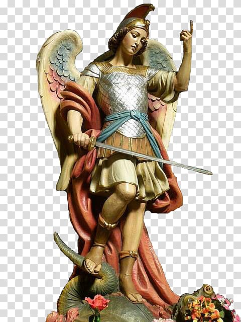 Archangel Michael Gabriel Prayer, Arcangel transparent background.