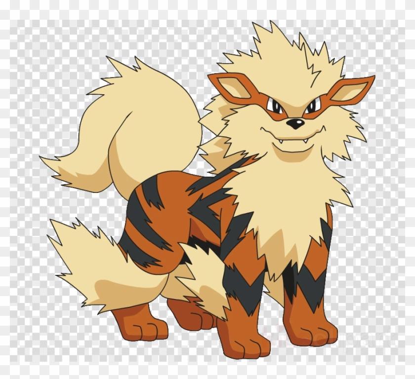 Growlithe Evolution Clipart Growlithe Arcanine Pokémon.