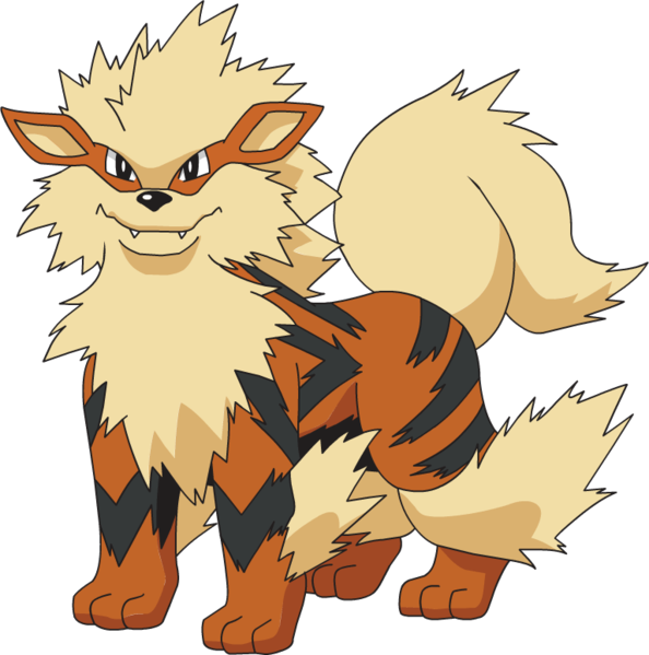 Arcanine Png Vector, Clipart, PSD.