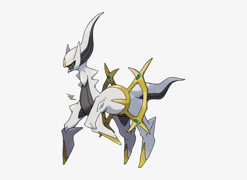 Pokemon Arceus PNG Image.