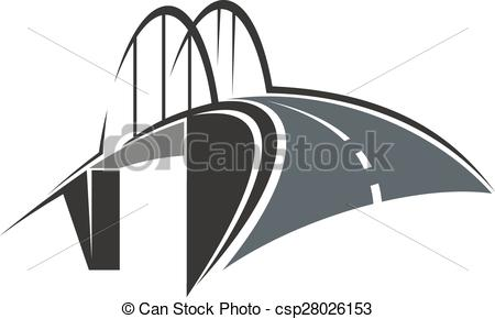 Arch bridge Vector Clipart EPS Images. 649 Arch bridge clip art.