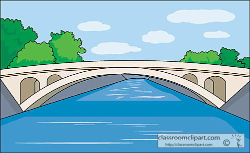 Arch Bridge Clipart.