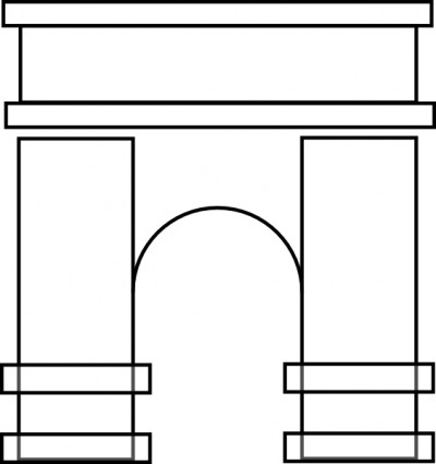 Arches Clipart.