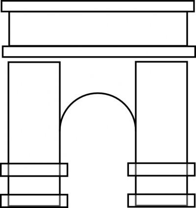 Arches Clipart.