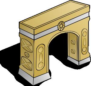 Arch clip art Free Vector / 4Vector.