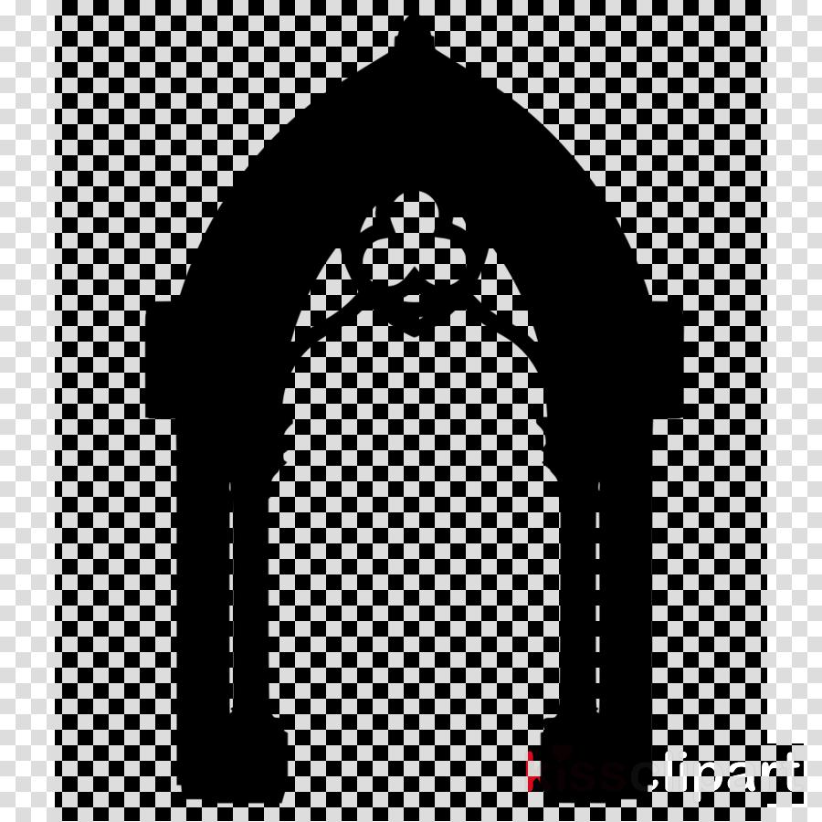 arch architecture nativity scene black.