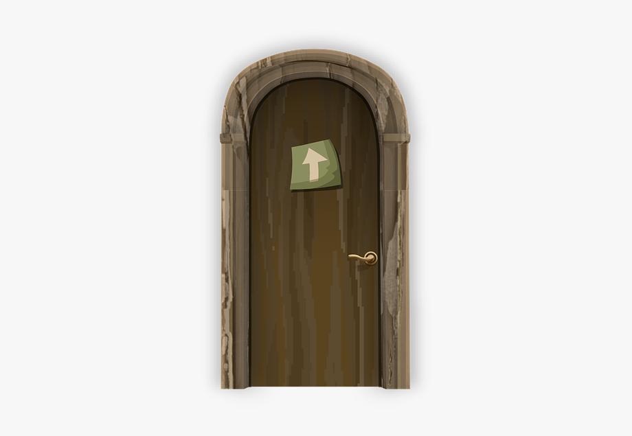 Arch Clipart Round Door.