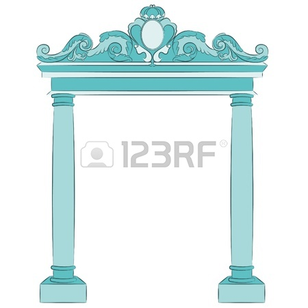 The Vintage Arch Royalty Free Cliparts, Vectors, And Stock.
