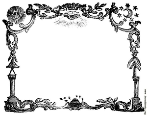 Royal Arch Keystone Clipart.