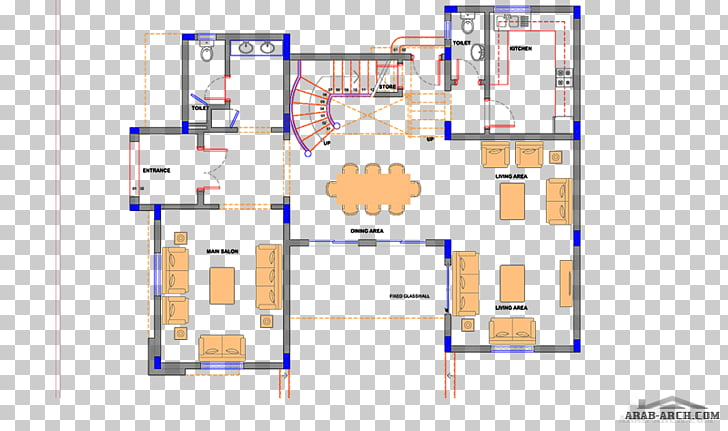 Floor plan Line, Arab arch PNG clipart.