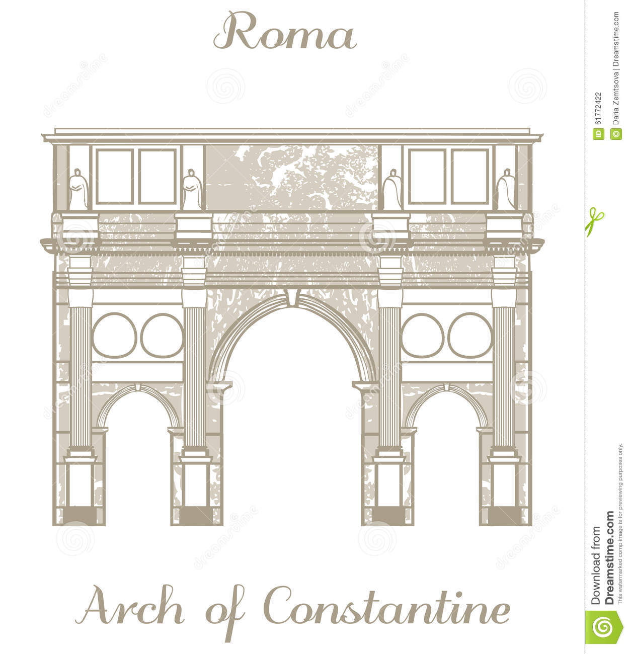 Arch of constantine clipart #19