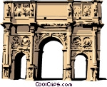 Arch of constantine clipart #20