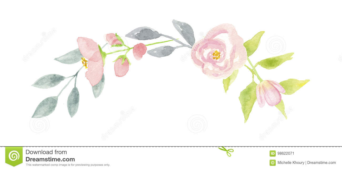 1665 Garland free clipart.