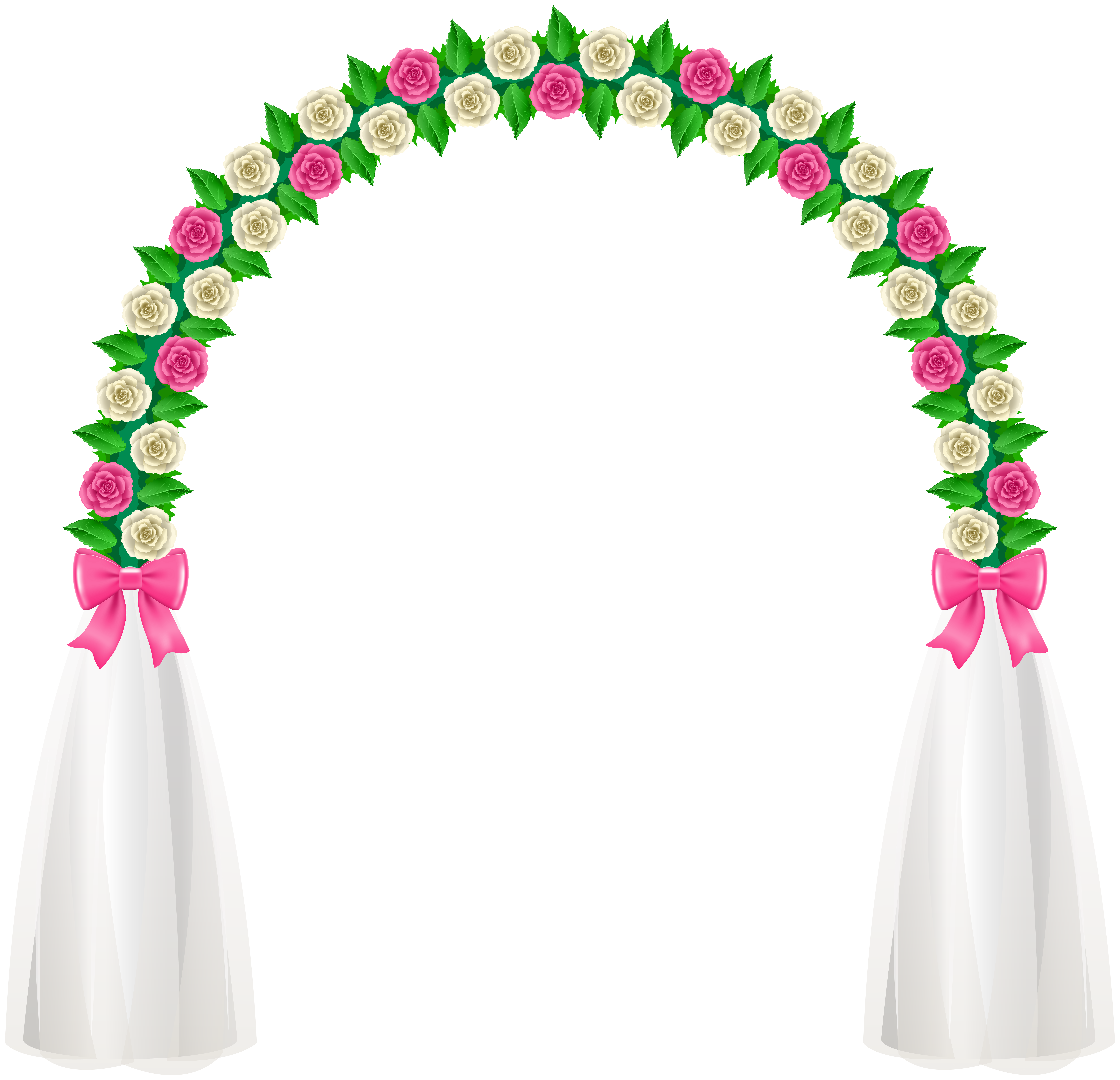 Wedding Arch PNG Clip Art.