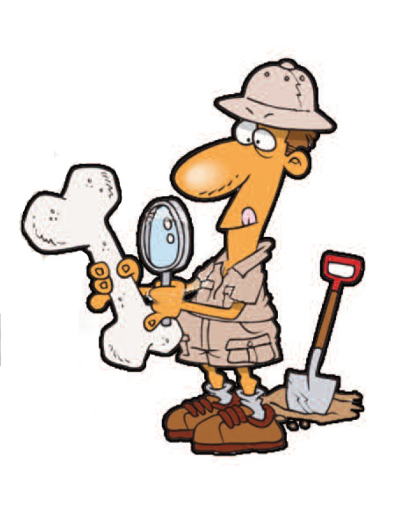 Free Clip Art Archaeological Site.