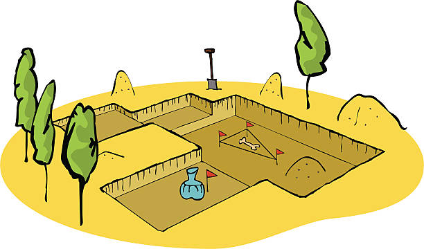 Archaeology Dig Clip Art, Vector Images & Illustrations.