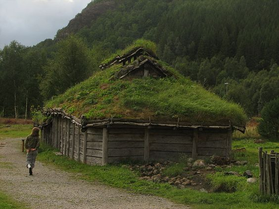 Landa (archaeological outdoor museum) at Forsand, Norway..