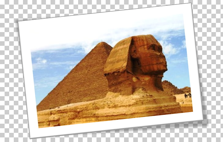 Great Sphinx of Giza Egyptian pyramids Archaeological site.