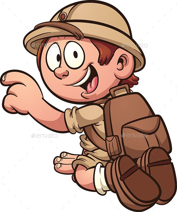 Download Free Cartoon Explorer # archaeologist #boy #cartoon.