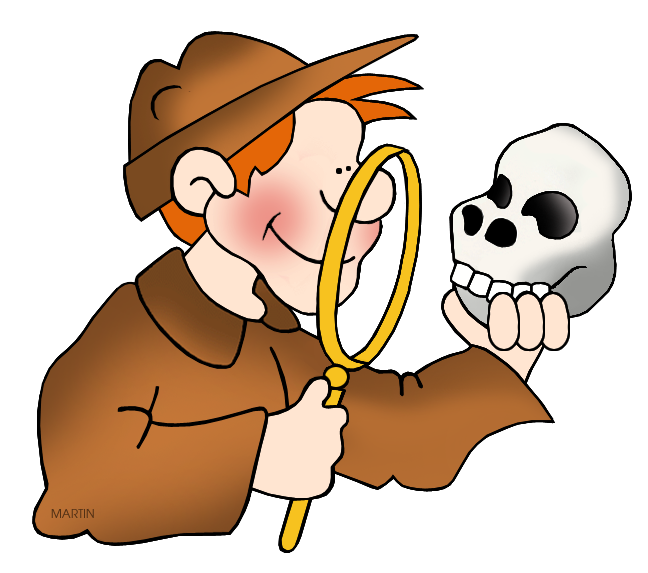 Free Science Clip Art by Phillip Martin, Archaeologist.