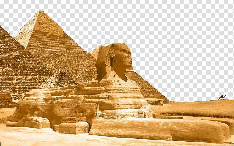 Pyramid illustration, Great Sphinx of Giza Great Pyramid of.