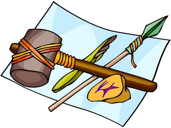 Archaeology tools clipart.