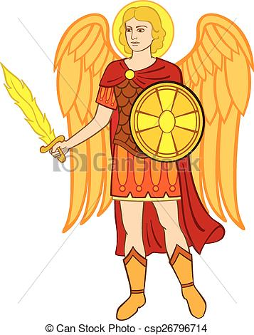 Archangel Vector Clipart EPS Images. 243 Archangel clip art vector.
