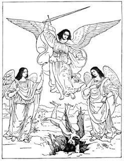 Similiar Saint Michael The Archangel Clip Art Keywords.