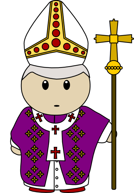 Bishop Clipart.