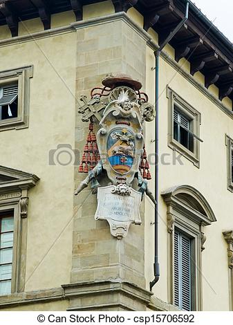 Stock Photographs of Archbishop's Coat of Arms in Archbishop's.