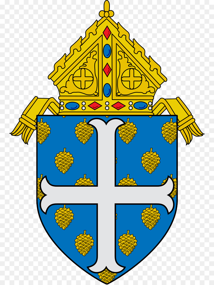 Roman Catholic Archdiocese Of Newark Yellow png download.