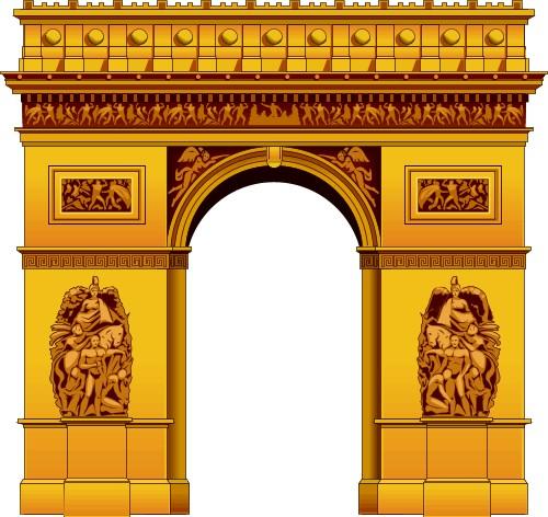 Arc De Triomphe Clip Art.