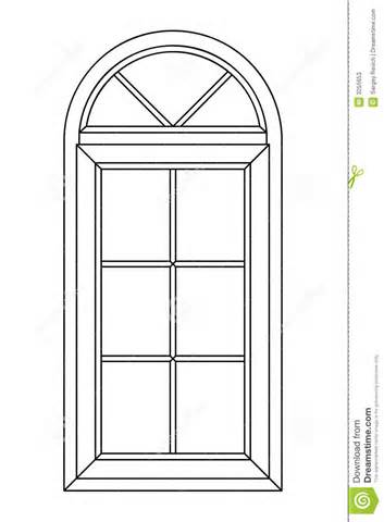 Arched Windows Clipart Clipground