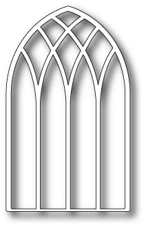 Gothic Arch Outline Clipart.
