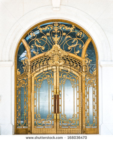 Arch Door Stock Images, Royalty.