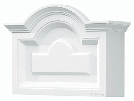 NuTone LA140WH Classic Decorative Wired Two Note Arched Top Design.
