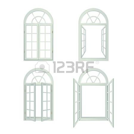 Arched features clipart #1